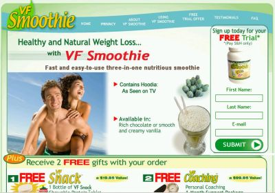 Sponsored: VF Smoothie VF Weight Loss Meal Replacement Program 10-Day Free Trial and 2 Free Gifts - Club Offer, Savings Offer