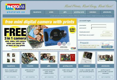 Photolab.ca (Loblaws, Real Canadian Superstore, Maxi, Fortinos, Extra Foods, Dominion, No Frills...) Photo Coupons and Coupon Codes - Canada