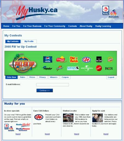 Husky gas coupons canada
