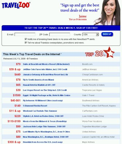 Travel Discounts
