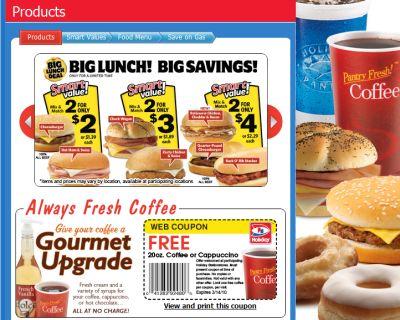 Holiday gas station coffee coupons 2018