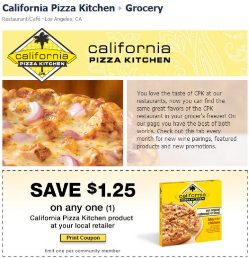 Cpk Coupons 2011