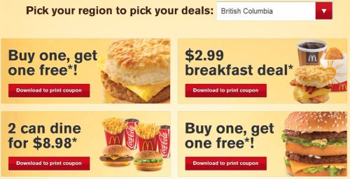 Mcdonalds coupons hack