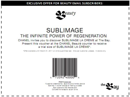 Chanel coupon code