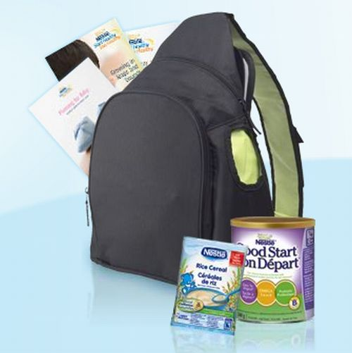 Nestle Baby Program Free Mommy Perks Backpack With Diaper Change Pad Formula Samples Couponore Canada