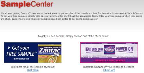 kmart logo pharmacy. Kmart SampleCenter Free
