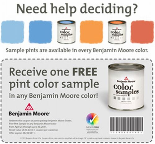 Get the lowest price with our best coupon codes and discount offers at Benjamin Moore.