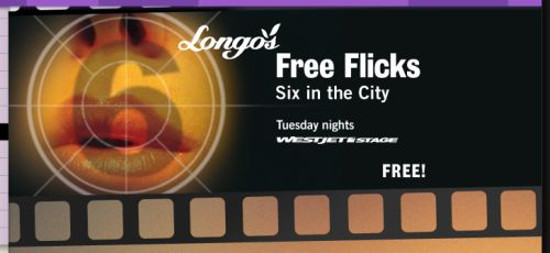 Toronto Harbourfront Centre Free Flicks: Six in the City Free Movies - Starts July 5, 2011