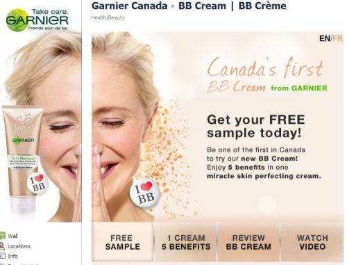 Garnier Free Samples Canada