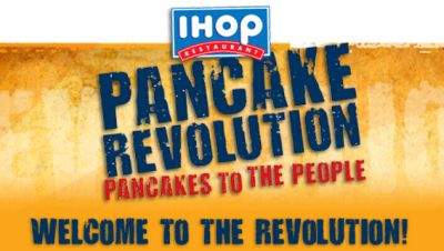 Free Meal just for Signing Up on Your Birthday and More from IHOP Pancake Revolution Club via Facebook - US
