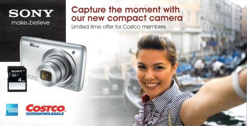 Receive $40 off a Sony Digital Camera DSCW670SD When You Use Your American Express Card - Exp. May 20, 2012, Canada