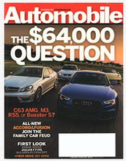freebizmag Free One-Year Subscription to Automobile Magazine - US