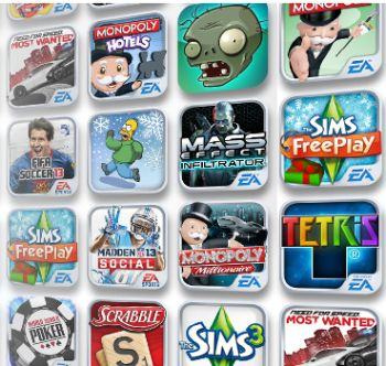EA Daily Spin and Win Free Games for iOS Devices: iPod Touch, iPhone and iPad - International