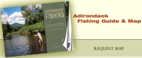 Fish ADK Adirondack (in New York) Fishing Guide and Map