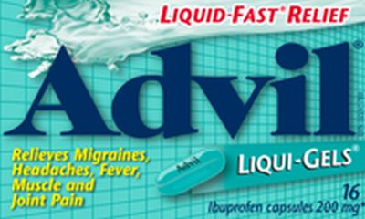 Advil Trial Offer Free Advil Liqui-Gels Sample - Ages 18+, Canada
