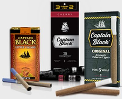 Captain Black Cigars Free Captain Black Cigarillos Sample - Ages 21+, US