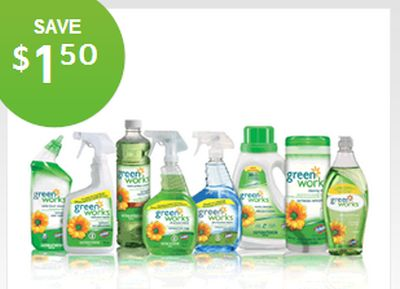 Clorox Green Works Free Printable Coupon to Save $1.50 - Exp. Jun. 30, 2013, Canada
