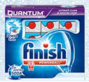Finish Quantum Dishwasher Tablets Free Sample - US