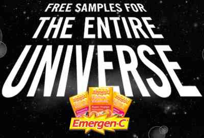 Emergen-C Super Orange Free Sample via Facebook - US