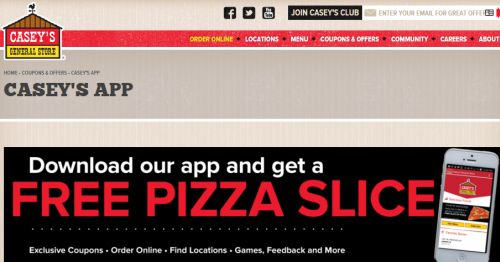 Casey's pizza coupons 2019
